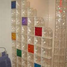 Summit Brick Company | Glass Block | Shower Color