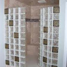 Summit Brick Company | Glass Block | Shower