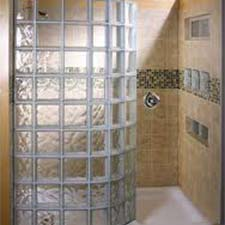 Summit Brick Company | Glass Block | Shower Clear